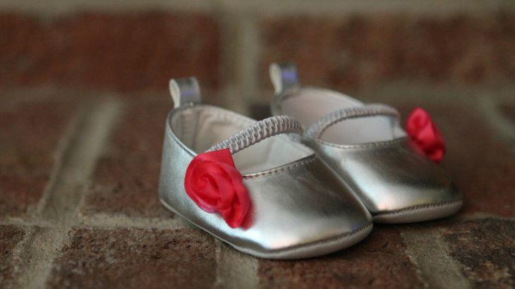 buty dla dziewczynki srebrne